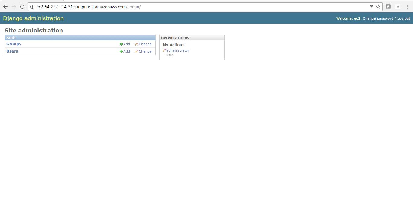 open user panel after login