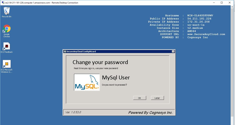 3. change your password