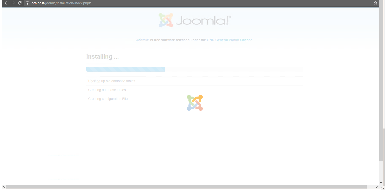 installing settings