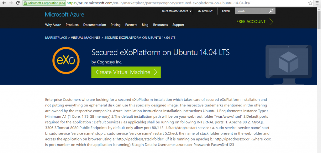 Exoplatform on Ubuntu 1