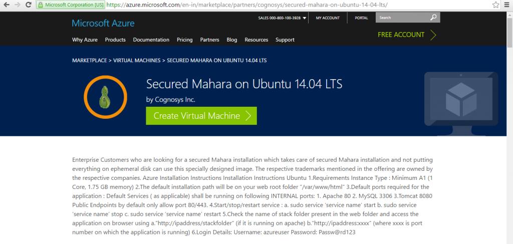 Mahara on Ubuntu 1