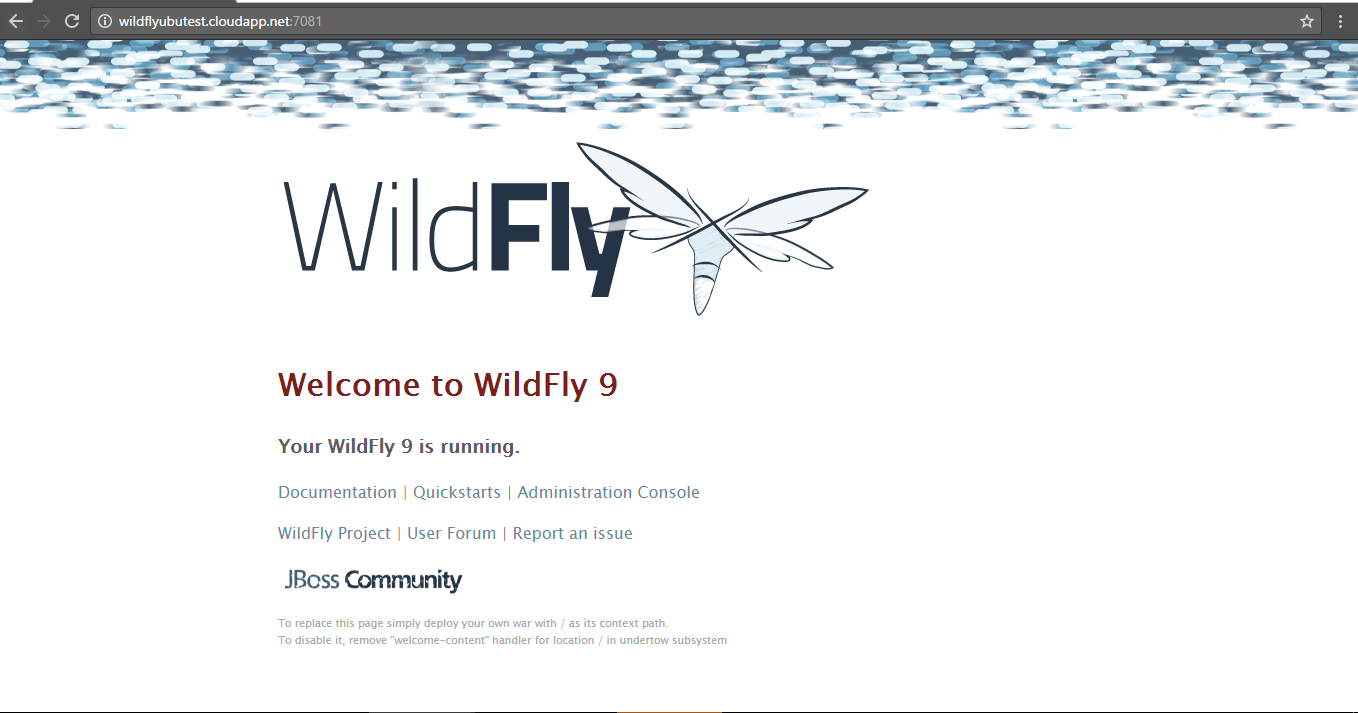 wildfly-on-cloud-welcome-screen