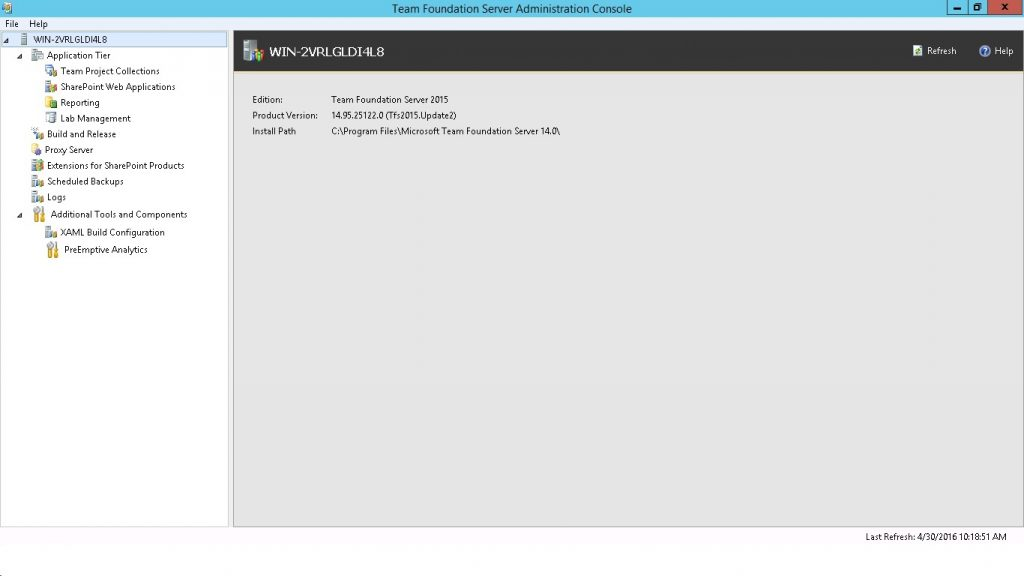 Team Foundation Server 2015 on Windows Server 2012 R2_02