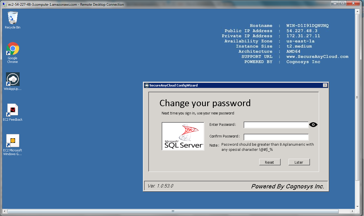 change your password instructions for maintaining security
